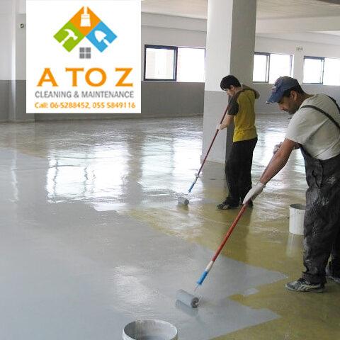 Epoxy Floor Painting Dubai, Sharjah, Ajman